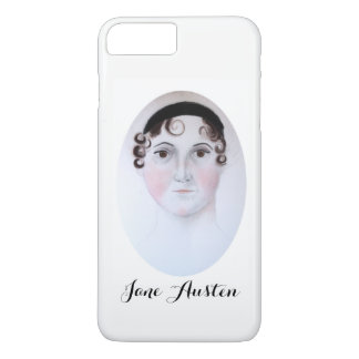 Jane Austen iPhone 7 Plus, Barely There Phone Case
