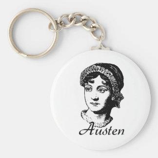 Jane Austen Keychain