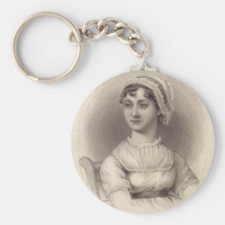Jane Austen Keychains