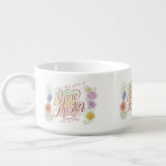 Jane Austen Kind of Day Chili Bowl