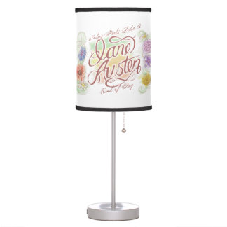 Jane Austen Kind of Day Table Lamp