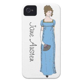 Jane Austen Lady iPhone 4 Cover