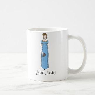Jane Austen Lady Classic White Coffee Mug