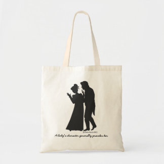 JANE AUSTEN LADY'S CHARACTER TOTE BAG
