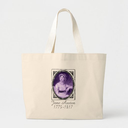 Jane Austen Large Tote Bag