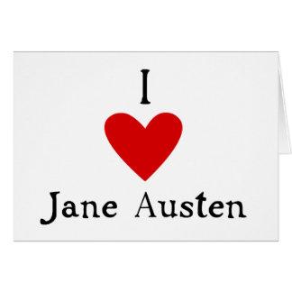 Jane Austen Love Card