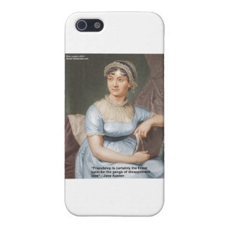 Jane Austen Love Finest Balm Quote Cards & Gifts Case For iPhone SE/5/5s