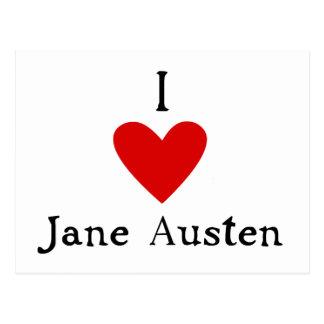 Jane Austen Love Postcard