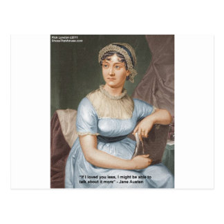 Jane Austen Loved U Less Quote On Gifts & Cards