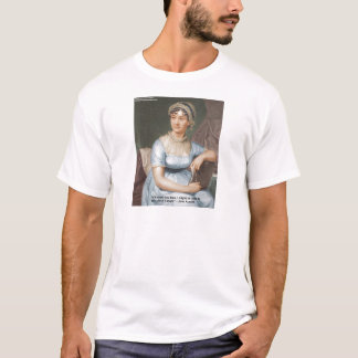 Jane Austen Loved U Less Quote On Gifts & Cards T-Shirt