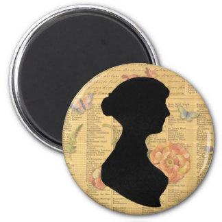 Jane Austen Magnet