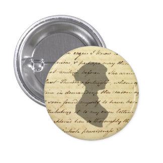 Jane Austen manuscript button