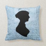 Jane Austen, me llama Letter de señora Jane CrissC Almohadas