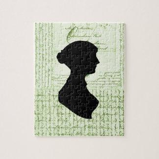 Jane Austen, me llama Letter de señora Jane CrissC Puzzle