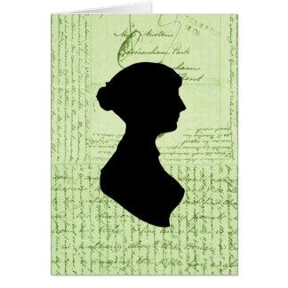 Jane Austen, me llama Letter de señora Jane CrissC Felicitacion