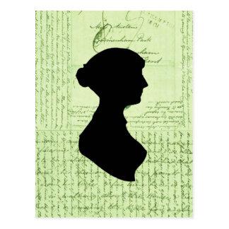 Jane Austen, me llama Letter de señora Jane CrissC Postales