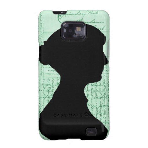 Jane Austen, me llama señora Jane Series Samsung Galaxy S2 Carcasas