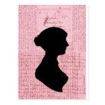 Jane Austen, me llama señora Jane Series Tarjeta Postal