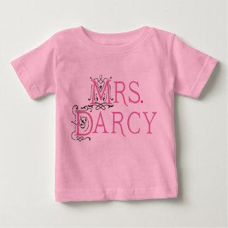 Jane Austen Mrs Darcy Gift Baby T-Shirt