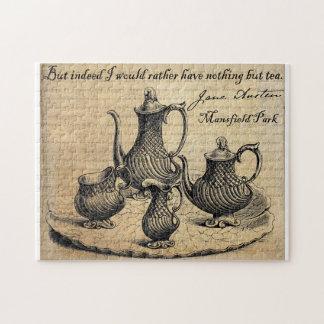 Jane Austen: Nada pero té Rompecabezas
