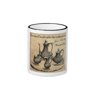Jane Austen: Nada pero té Tazas