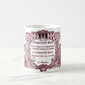 Jane Austen:Netherfield Ball Invite Mug