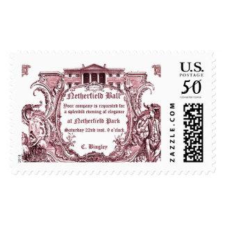 Jane Austen: Netherfield Ball Stamps