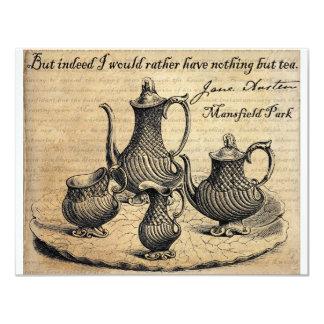 Jane Austen: Nothing But Tea Card