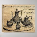 Jane Austen: Nothing But Tea Poster