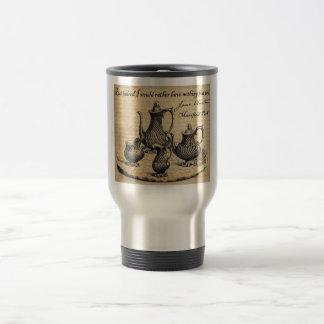 Jane Austen: Nothing But Tea Travel Mug