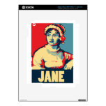 Jane Austen Obama-tized Decals For iPad 3