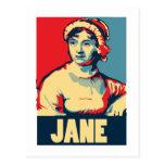 Jane Austen Obama-tized Post Card