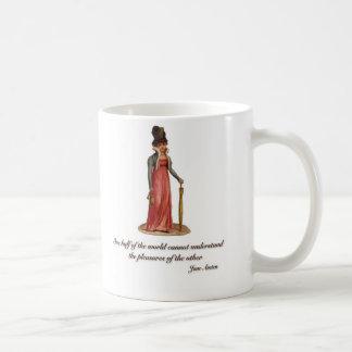 Jane Austen on Misunderstanding Coffee Mug