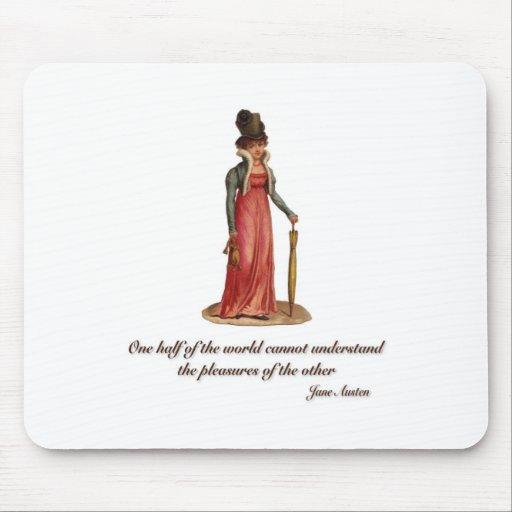 Jane Austen on Misunderstanding Mouse Pad