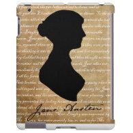 Jane Austen Page Silhouette