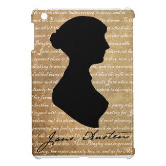Jane Austen Page Silhouette Cover For The iPad Mini