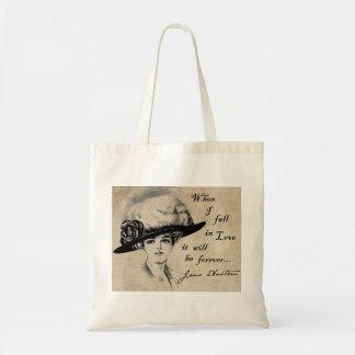 Jane Austen: Para siempre Bolsa Tela Barata