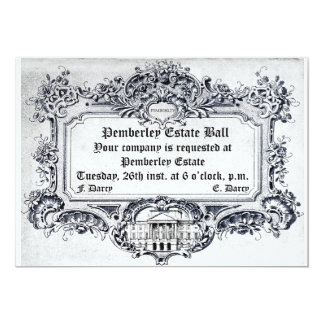 Jane Austen: Pemberley Estate Ball Card