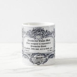 Jane Austen: Pemberley Estate Ball Coffee Mug