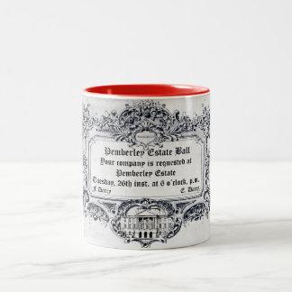 Jane Austen: Pemberley Estate Ball Two-Tone Coffee Mug