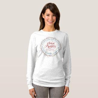 Jane Austen Period Drama Long Sleeve T-shirt - Ash