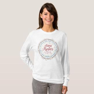 Jane Austen Period Drama Long Sleeve T-shirt White