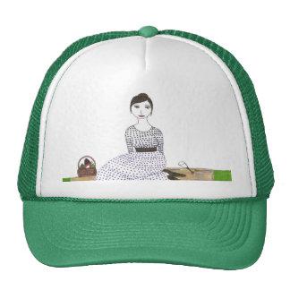 Jane Austen Picnic Trucker Hat