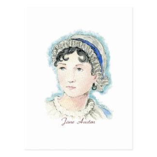 Jane Austen Portrait by Alice Flynn Post Cards