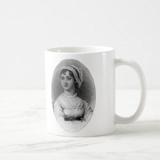 Jane Austen Portrait Coffee Mug