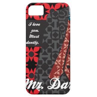"Jane Austen Pride and Prejudice gift ""Mr. Darcy"" iPhone 5 Case"
