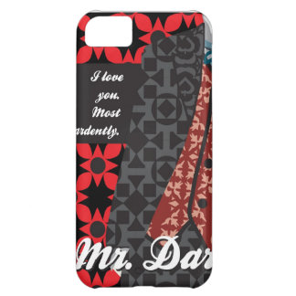 "Jane Austen Pride and Prejudice gift ""Mr. Darcy"" iPhone 5C Covers"