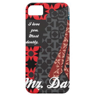 "Jane Austen Pride and Prejudice gift ""Mr. Darcy"" iPhone SE/5/5s Case"