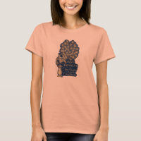 Jane Austen Pride and Prejudice Peacock 1894 T-Shirt