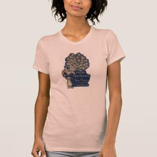 Jane Austen Pride and Prejudice Peacock 1894 Tshirt